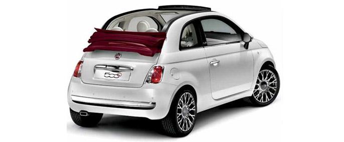 Autonoleggio nuovo fiat 500 cabrio catania fontanarossa