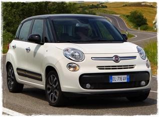 Fiat 500 Living a noleggio all'aeroporto di catania