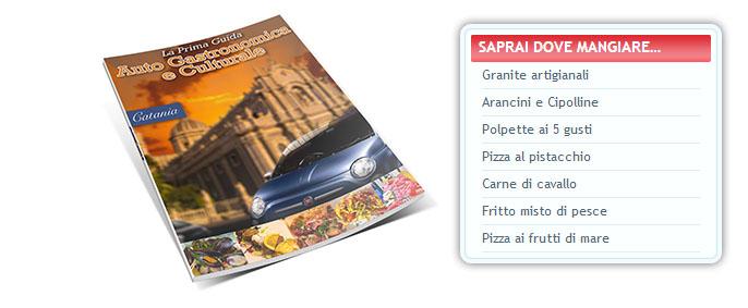 La prima guida autogastronomica e culturale di Catania