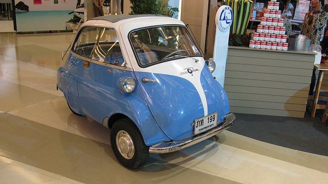 Le auto pi piccole del mondo rent a car catania for Macchine da cucire piccole